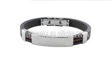 Fashion jewelry new Leather Wrap Wristband Cuff Punk Magnetic Buckle Bracelet Bangle