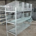 Galvanized Welded Rabbit Breeding Cage