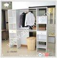 Tela modernos diseños de gabinete para el dormitorio/bastidor de almacenamiento para el dormitorio