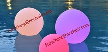 shanghai commercial furniture wholesale outdoor garden led glow floating ball