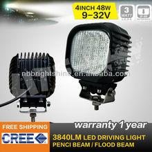 48w led work light,16pcs*3w,for ATV/UTV/OFF ROAD CAR/MINING