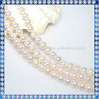 freshwater pearl strands wedding decoration