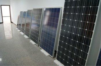 China made mono solar panel 20w-310w with TUV CE CEC MCS