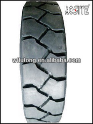 Hot sale solid and pneumatic forklift tires 7.00-12