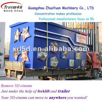 motion hydraulic truck mobile 5D cinema