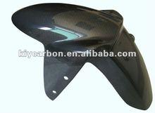 Carbon parts front mudguard for Triumph motorcycle