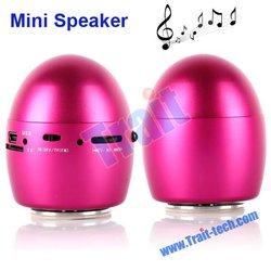 USB/TF Card Mini Egg Design Singing Table Speaker with FM Radio