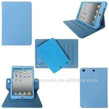 Rotating Leather smart case for iPad mini