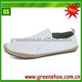 2014 sapatas de lona branca por atacado sapatos casuais