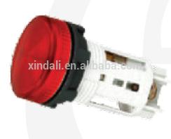 LED neon bulb industrial waterproof plastic push-button/push button switch SB7-EV64