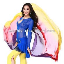 Belly Dance Silk veils women's belly dancing accessaries, Egyptian and Indian belly dance silk veils