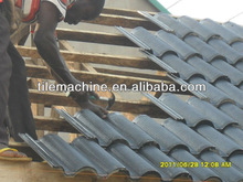 Cement roof tile