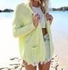 2014 Winter Long Sleeve Sweater Coat Fahison Women knit cardigan Jacket