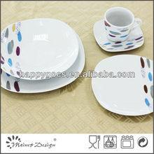 QL4787 modern dinner set porcelain