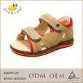 2014 fábrica de alta qualidade do couro genuíno verão china atacado sandálias sapatos