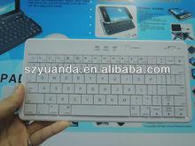 slim ergonomic bluetooth 80 keys compatible apple keyboard for ipad & iphone