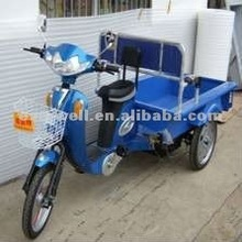 Cargo electric trike 3 wheel bike with pedal
