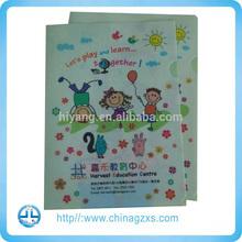 Document file portfolio a4 folder printing/guangzhou custom paper folder printing