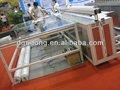 Cqj320 ultra-sônica de corte de pano de mesa para cortinas de tecido têxtil