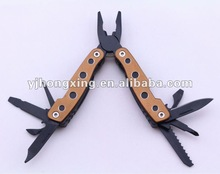 Aluminum handle Multifunction Tool with 11 in 1