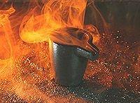 Graphite crucibles for copper smelting