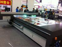 Digital glass ceramic acrylic metal flatbed printing machine/uv flatbed printer