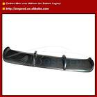 Carbon Fiber Rear Lip Spoiler for Subaru Legacy 2007 Cars