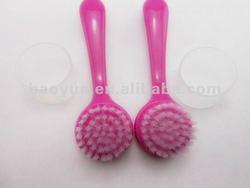 2014 Plastic Nylon Face Cleansing Brush