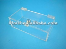Small acrylic locking case