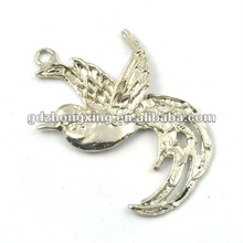 Alloy bird diy jewelry parts pendant-A16580