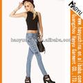 Gros boutique haoyu jeans femmes taille élastique , plus la taille pantalons ( HY5143 )