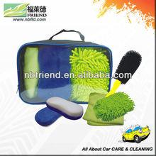 4 pcs car cleaning kit