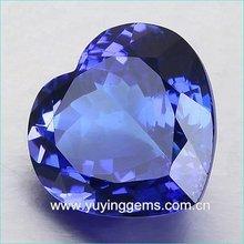 High Refractive Heart Shape CZ Gems