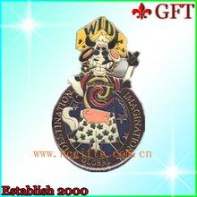 Metal Animal Painted emblem definition Badge Pins GFT-B0241