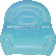 Inflatable Blue Furniture Single Sofa