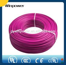 UL1015 pvc copper wire 2/0 guage