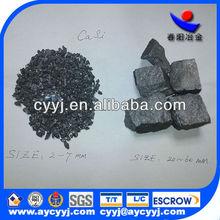 calcium silicon ferro/ casi si50ca28 pure calcium silicon low price C 1.0max P 0.04max S 0.05max