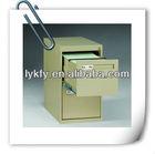 KFY-B-02 Green 0.044 CBM Office Free Standing Cabinet Drawer