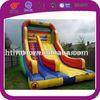 large commercial inflatable double lane slip slide