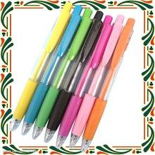High quality slogan plastic fat pen&ball pen orange & black plastic