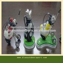 Desktop Golf Caddy Cart Pens Holder