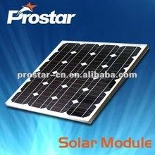 broken mono solar cell