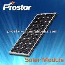 180w mono black solar pv panel module