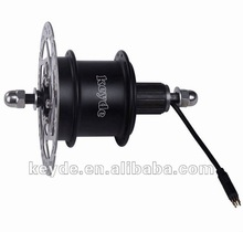 electric bicycle motor conversion kit brushless rear disc brake motor with controller and speed sensor inside 250W
