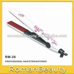 Silk pint Ceramic plate Hair Straightener hair flat iron