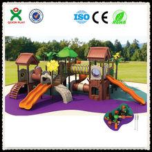 Forest theme kids playgrounds equipment/adventure playground QX-11004B