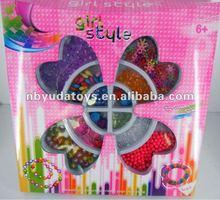 Ningbo Sunrise/ICTI factory/2014 hottest toy/children toys diy bead set