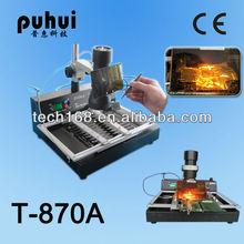 TAIAN, PUHUI ,BGA equipment,T-870A, BGA rework station,chip repair,soldering machine,cellphone repair machine