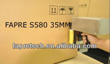 S580 industrial inkjet coding printer Two HEADS hand jet printer industrial inkjet coding printer