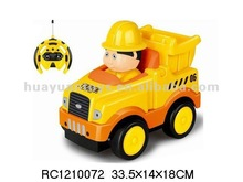 2012 Hot! 4 CH R C Construction Trucks with Light&Music RC1210072